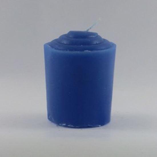 Blue Votive Candle