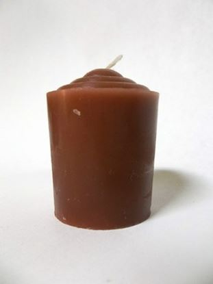 Brown Votive Candle