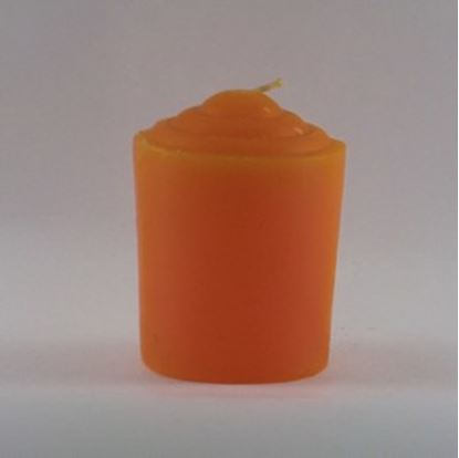 Orange Votive Candle