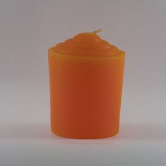Orange Votive Candle