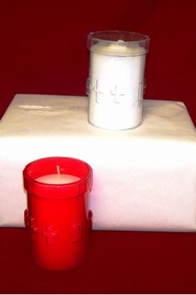 3 Day Candle in Plastic