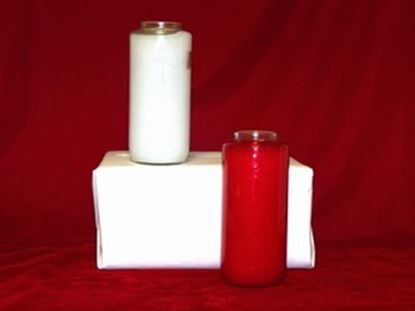 5 Day Glass Sancto Candle