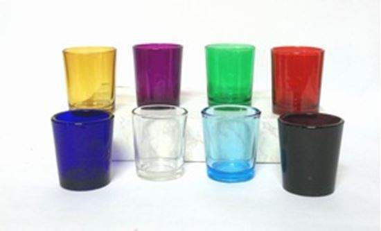 15 Hour Glass Votive Candle Holder